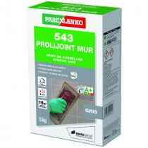 Mortier Joint Mur Gris 543 Prolijoint mur ParexLanko, 5 kg