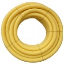 Drain agricole perforé nu en diamètre 65 mm, la couronne de 50 ml