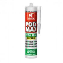 Mastic Polyuréthane Poly-Max Fix&Seal Griffon Crystal 300 g