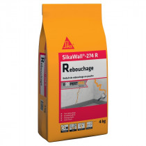 Enduit de Rebouchage en poudre SikaWall 274 R, 4 kg