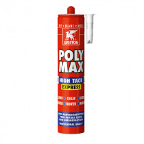Colle Poly-Max High Tack Express Griffon Blanc 410 g