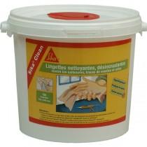 Lingettes Nettoyantes Mains et Outils SikaClean, 150 lingettes