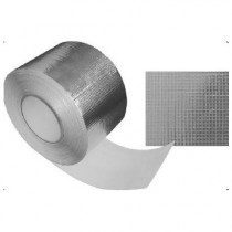 Adhésif aluminium renforcé ultra larg. 15 cm spécial isolant mince