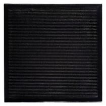 Carrelage mural Quadra verra Noir pailleté 19,6x19,6x1cm, carton de 25