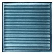 Carrelage mural Quadra verra Turquoise 19,6x19,6x1cm, carton de 25