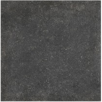Carrelage Rex pietra deL nord nero effet pierre, 80x80cm, le m2