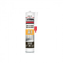 Mastic Blanc pour Joint Fissure Façade Rubson A1, 300ml