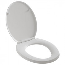 Abattant WC Wirquin Universel Thermoplastique First Blanc 20718747