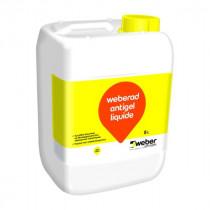 Accélérateur de Prise Béton Weberad Antigel Liquide 5l