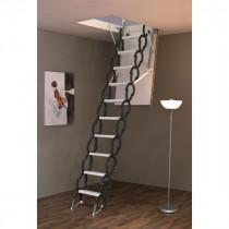 Escalier Escamotable Métal Fritz Accordéon 2,90 m