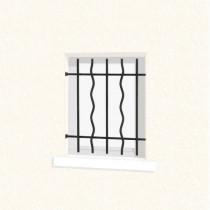 Grille de Défense pour Fenêtre Azur, Dimensions au choix