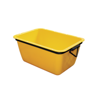Bac à Gacher pour Mortier Jaune 200 litres 92x62x46 cm