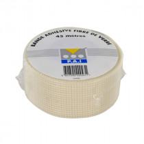 Bande à Joint Adhésive 48 mm x 45 m Fibre de Verre PAI pour Plaque de Plâtre