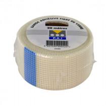 Bande à Joint Adhésive 48 mm x 20 m Fibre de Verre PAI pour Plaque de Plâtre