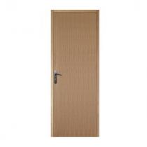 Bloc porte plaqué chêne, 204x83 cm, poussant droit