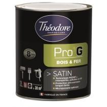 Peinture pour métaux et bois Théolaur Pro'g couleurs au choix, 2 pots de 2l