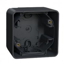 Boîte 1 Poste Schneider Electric Mureva Saillie IP55 Gris MUR37911