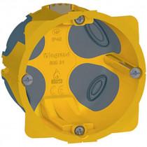 Boîte Encastrement 1 Poste Ecobatibox Legrand Profondeur 50 mm 080031