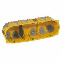 Boîte Multipostes Ecobatibox Legrand 3 Postes Profondeur 50mm 080033
