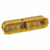 Boîte Multipostes Ecobatibox Legrand 4 Postes Profondeur 50mm 080034