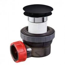 Bonde 67 mm et Siphon 32 mm Noir pour Lavabo Wirquin Nano 6.7 30722862