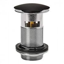 Bonde Lavabo Noir 75 mm avec Trop-Plein Wirquin 30722855