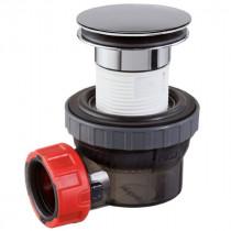 Bonde et Siphon Lavabo ⌀32mm Wirquin Nano Compact Trop Plein 30721242