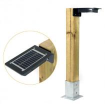 Borne Solaire Autonome pour Éclairage Extérieur Lagazel KENE 1500