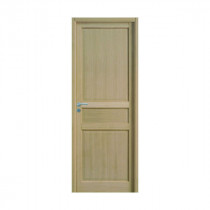 Bloc Porte Jade Plaqué chêne 204x73cm Huisserie 90mm Droit - GIMM