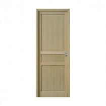 Bloc Porte Jade Plaqué chêne 204x73cm Huisserie 72mm Gauche - GIMM