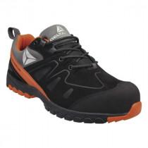 Chaussures de Sécurité DeltaPlus Brooklyn Noir-Orange S3 SRC