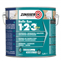 Primaire Adhérent et Isolant Bulls Eyes 123 Plus Zinsser