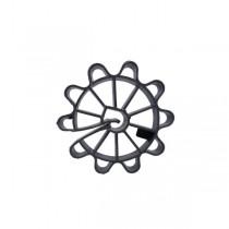 Cale d'Armature Ronde à clipser 25 mm, par 500