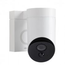 Camera de Surveillance Extérieure Connectée Blanche Somfy, 1870346