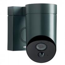 Camera de Surveillance Extérieure Connectée Noire Somfy, 1870347