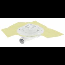 Siphon Extra Plat ⌀ 40 mm PVC 15 x 15 cm Docia Nicoll SFH15NP