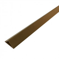 Liteau Triangulaire PVC 20x20x28 mm pour Chanfrein 90°, par 100m