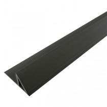 Liteau Triangulaire PVC 1 m 10x10x15 mm pour Chanfrein 90°, par 100
