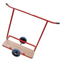 Chariot Porte-plaques de Plâtre 2 roues à Bras Fixes Taliaplast