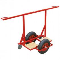 Chariot Porte-plaques de Plâtre 2 roues Tout Terrain Taliaplast