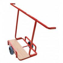 Chariot Porte plaques 2 roues à Bras Extensibles Taliaplast