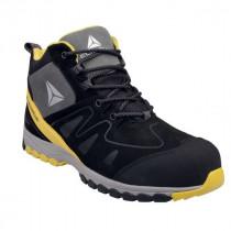 Chaussures de Sécurité DeltaPlus MANHATTAN S3 SRC Noir-Jaune