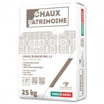 Chaux Hydraulique Chaux Patrimoine ParexLanko CHPAT25 25kg