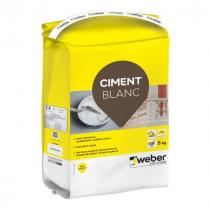 Ciment Multi-Fonctions Weber Blanc 5kg