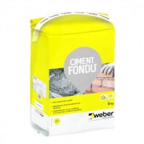 Ciment Fondu® à Durcissement Rapide Weber 5kg