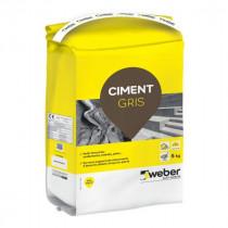Ciment Multi-Fonctions Weber Gris 5kg
