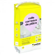 Colle Carreaux de Plâtre Weber Blanc 4kg
