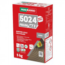 Colle Carrelage 5024 Prolimax Gris Parexlanko 5 kg