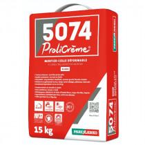 Colle pour Carrelage 5074 Prolicrème Blanc ParexLanko, 15 kg