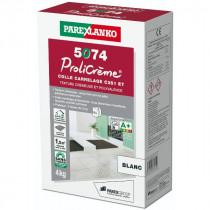 Colle pour Carrelage 5074 Prolicrème Blanc ParexLanko, 4 kg